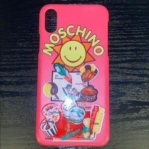 Moschino iPhoneX phone 📱 case